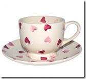 Emma Bridgewater Pink Hearts Tea Cup