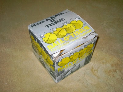 Ball O'Tissue box
