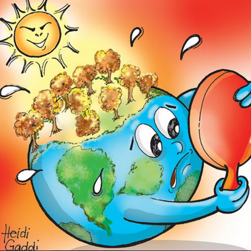 Pemanasan Global, penyebab, dampak, proses terjadinya pemanasan global