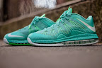 nike lebron 10 low gr green white 4 03 easter LEBRON X LOW, KOBE 8 and KD V   Nike Easter Collection
