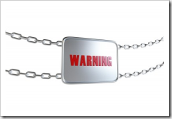 Warning -chains