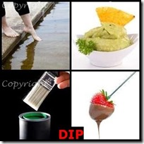 DIP- 4 Pics 1 Word Answers 3 Letters