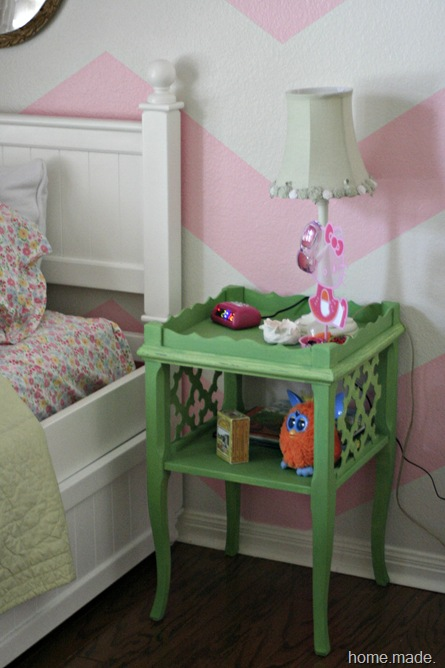 Green Side Table Sneak Peek
