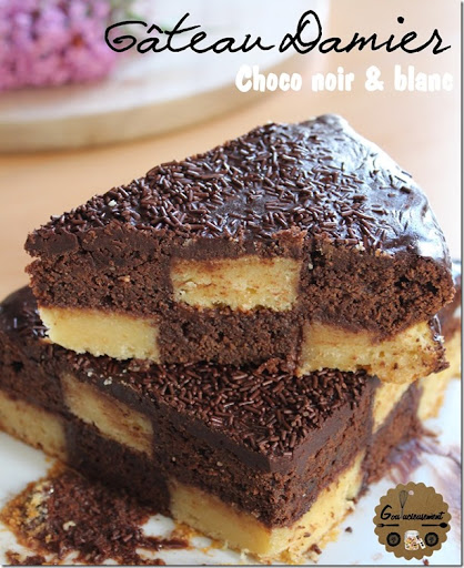 Extrêmement Goulucieusement: Damier Chocolat Noir, Chocolat Blanc, Nutella  HC99