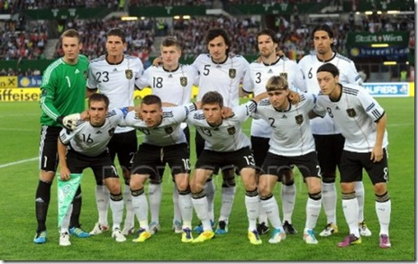 selectionata germaniei -euro 2012