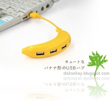 Banana USB hub