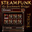 Steampunk GO Bookmark Theme icon