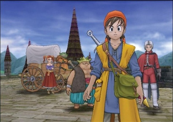 Dragon Quest VIII – Journey of the Cursed King PS2
