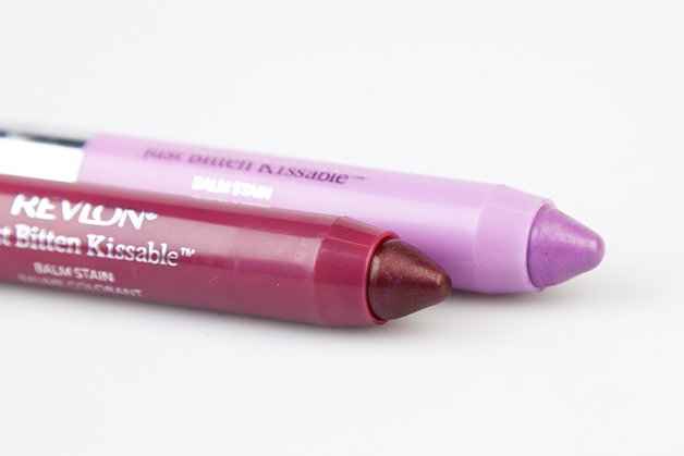 Revlon just bitten kissable balm stains chubby sticks review swatch darling crush 2