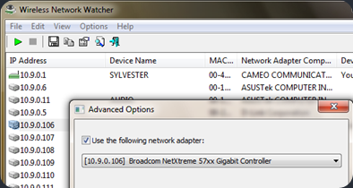 Free Wireless Network Watcher