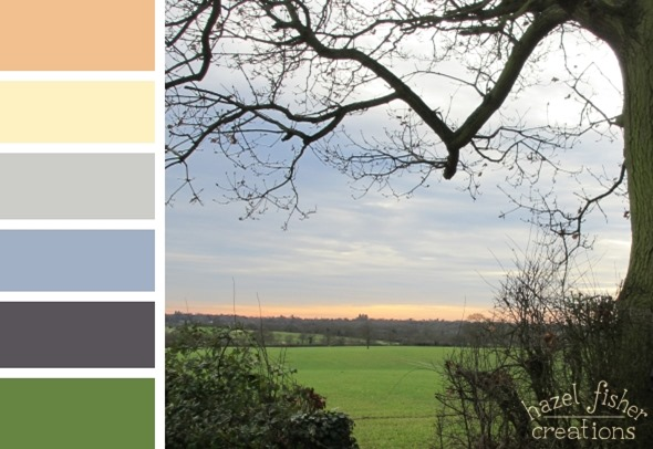 020 Colour Palette landscape sky photo hazel fisher creations 2015 Jan 21
