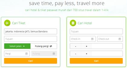 Wego.co.id Mesin Pencari Hotel dan Tiket Pesawat