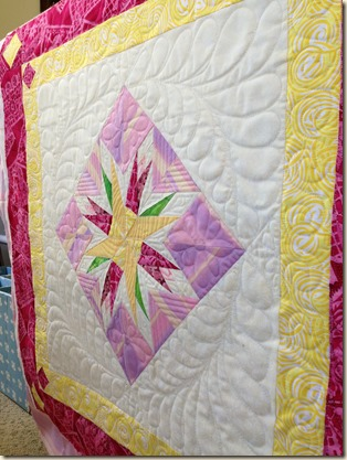quilting done