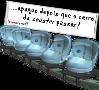 apague depois que o carro da coaster passar (lassoares-rct3)