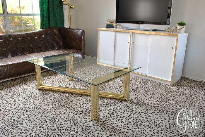 thrift score thursday brass karl springer coffee table3