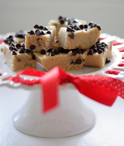 chocolate chip cookie dough fudge 2
