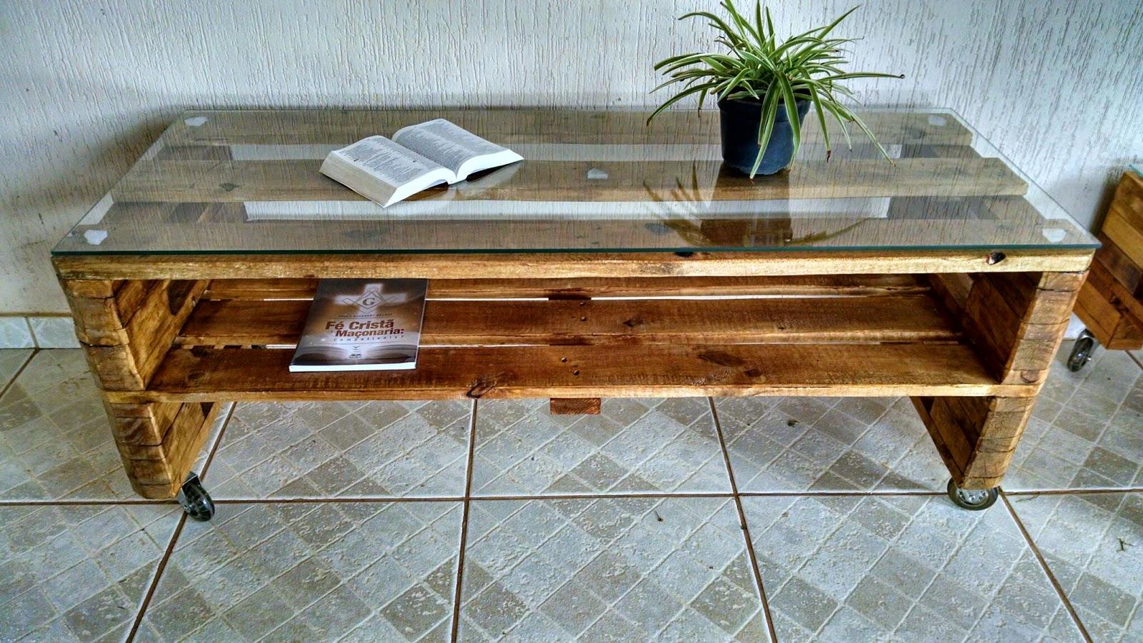 Excepcional Casa Paletes - Móveis Rústicos: Rack de paletes CN46