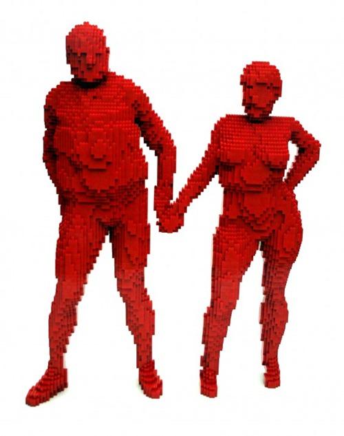 escultura Legos 04