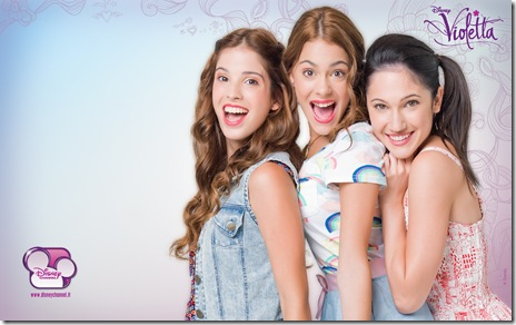Violetta Disney Channel - Imagini desktop