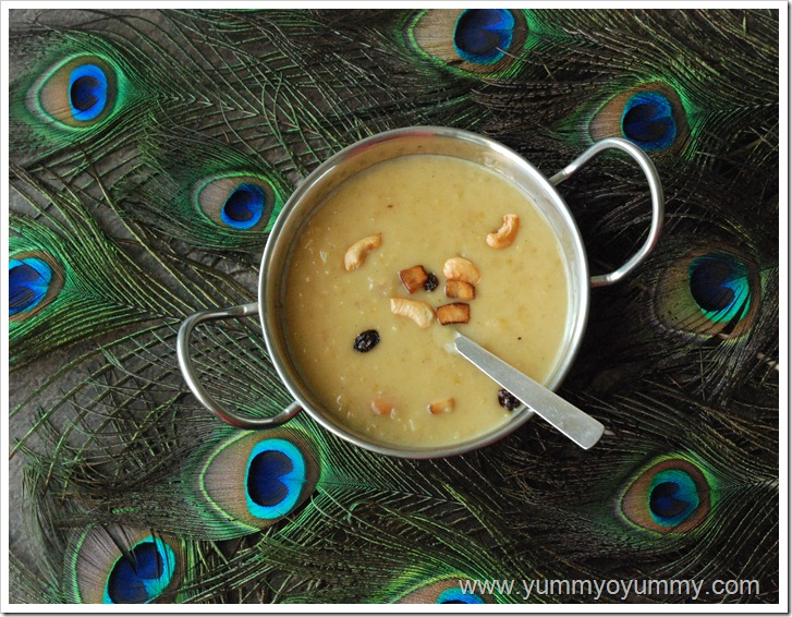 Cracked Wheat payasam