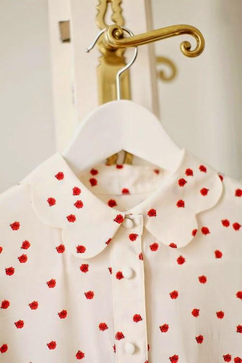 Inspiração: joaninha - camisa