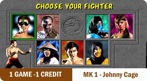 1 game - 1 credit