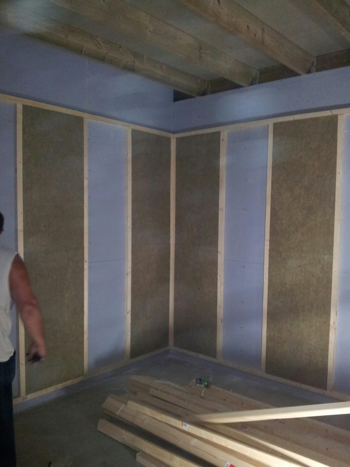 wcsc recording studio and radio build soundproof walls