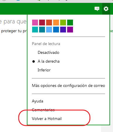 Outlook por Hotmail