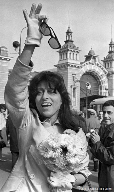 Анна Маньяни в Москве, 1965 год
