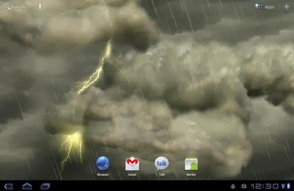 thunderstorm live wallpaper apk Download