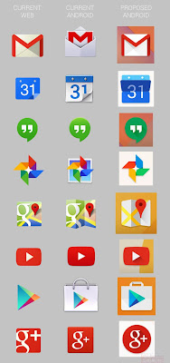Android - nuove icone