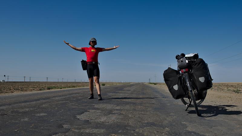 0 trafic = ciclist fericit.
