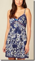 B by Ted Baker Navy Floral Chemise