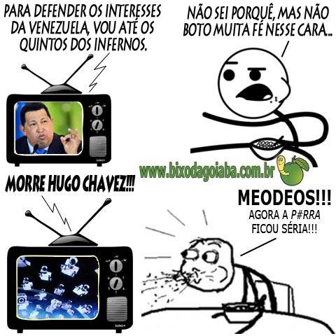 Morre Hugo Chavez