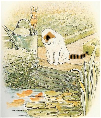beatrix potter cat