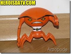 artropode Bonecos Ben 10 Força Alienígena - brinquedos