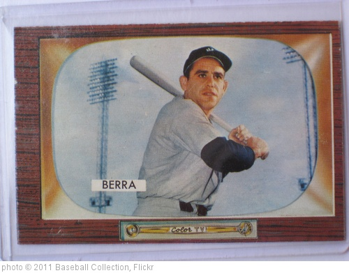 'Yogi Berra' photo (c) 2011, Baseball Collection - license: http://creativecommons.org/licenses/by/2.0/