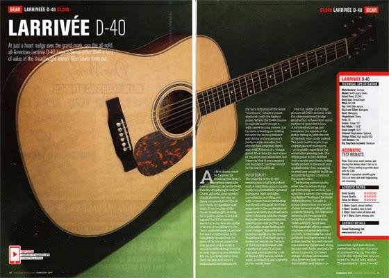 Acoustic d40 560