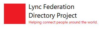 lync federation project