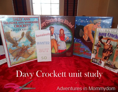 Davy Crockett unit study