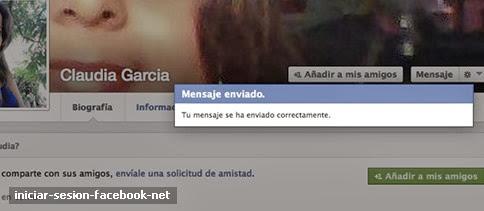 Cómo enviar mensaje privado a un amigo en Facebook