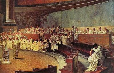 Cicerón contra Catilina