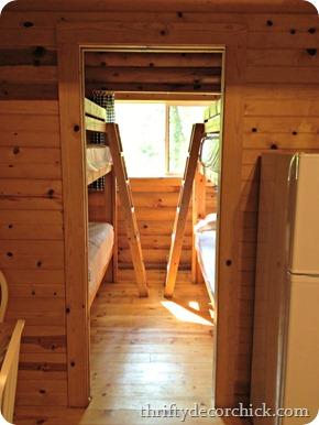 rustic cabin bunks