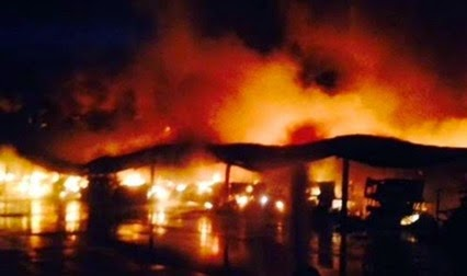 2014 Storage Fire