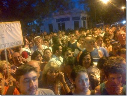 Marcha inseguridad Venado Tuerto