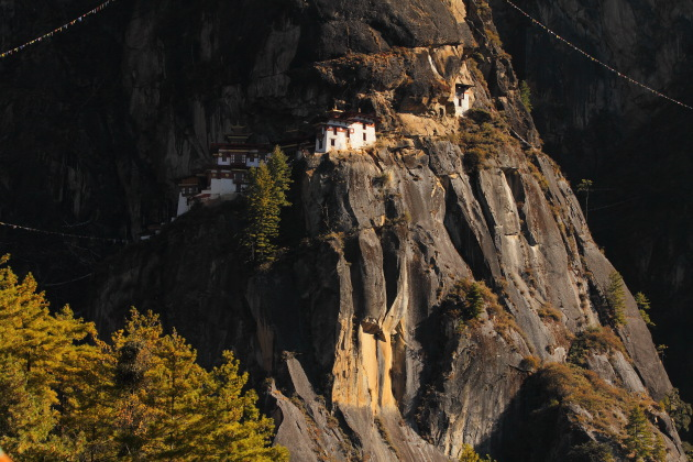 The famous Taksang Monastery of Bhutan