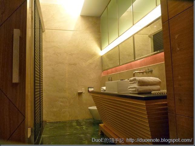 湖山汽車旅館湖光山景508房-衛廁間