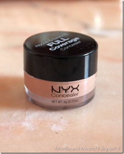 nyx full cover concealer