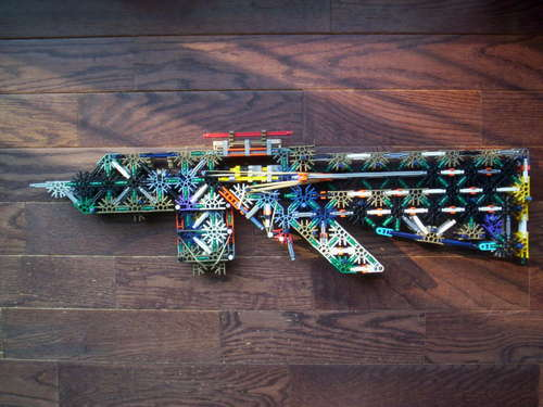 Knex XM8 10 Shot Rifle 17 by bannana inventor