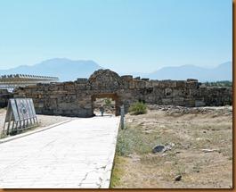 Pamukkale, Byzantine Gate N